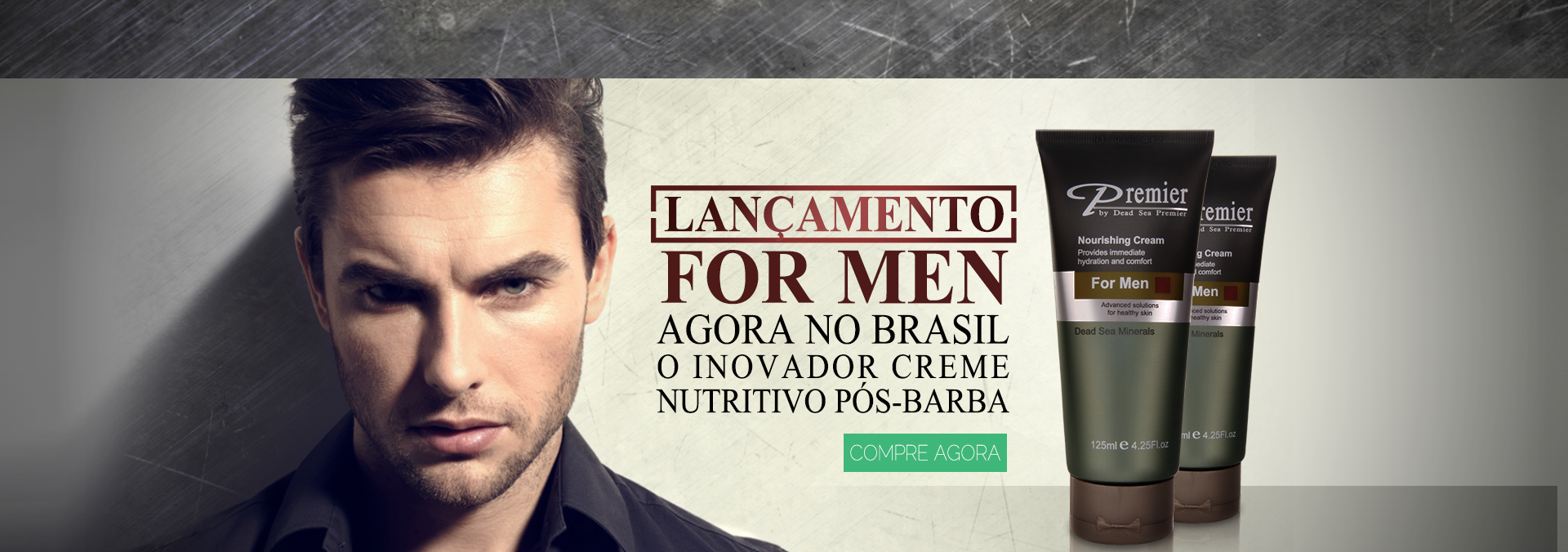 lançamento_Nourishing Cream for Men